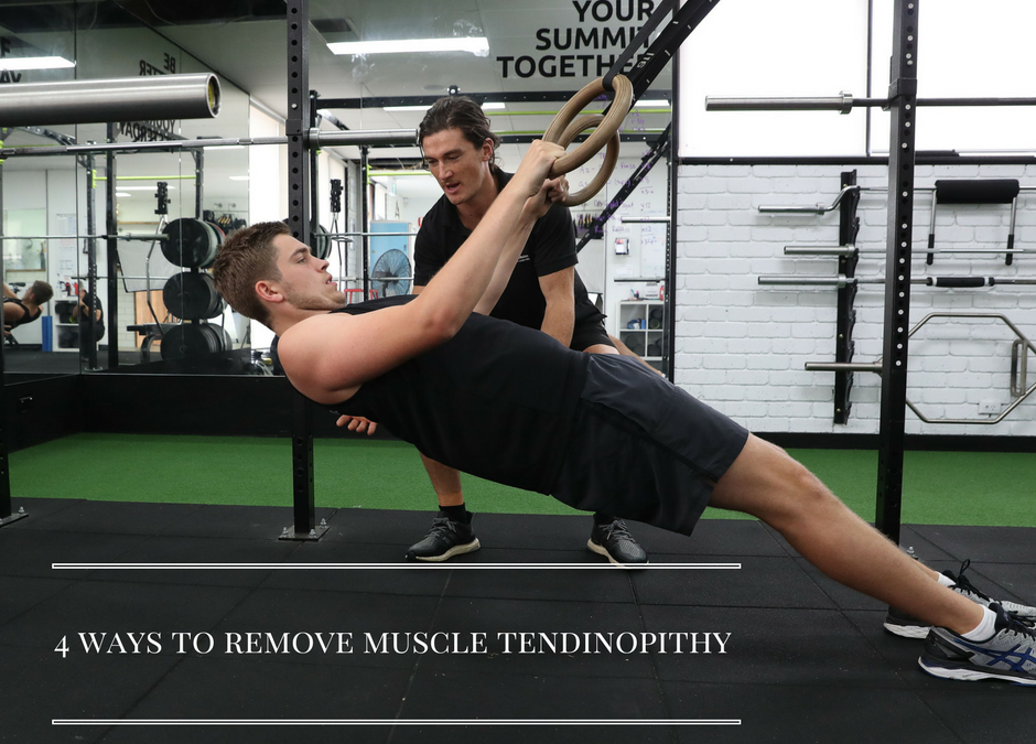 4 Tips to Remove Muscular Tendinopathy
